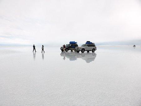 Salt Flat, Uyuni, Bolivia
