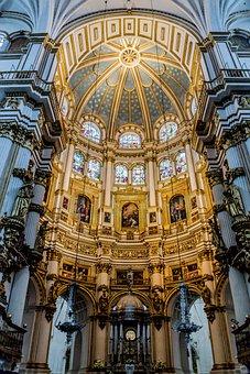 Cathedral, Granada, Architecture, Catholics, Monuments