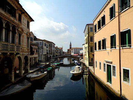 Chioggia, Italy, Small Venice, Veneto, Channel, Boats