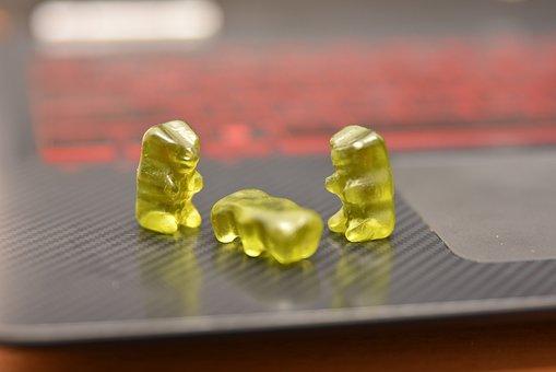 Gummybear, Lappy, Candy