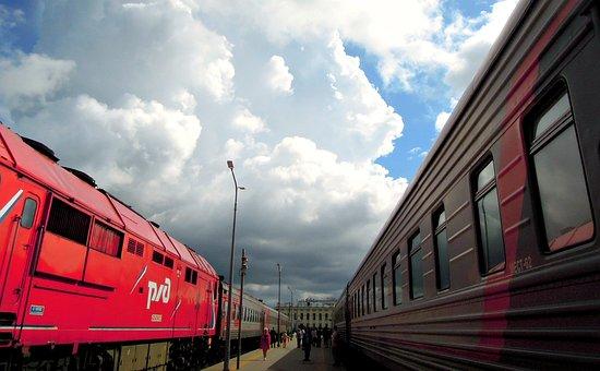 Train, Iron, Road, Locomotive, The Way, Rails, Motion