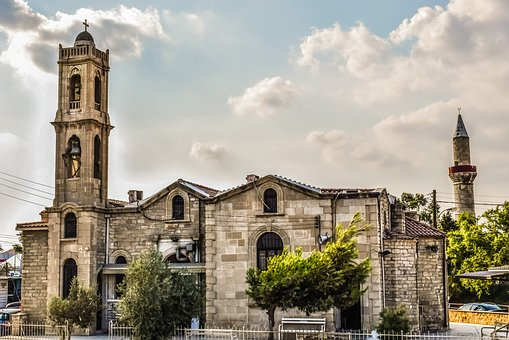 Church, Mosque, Christianity, Islam, Architecture