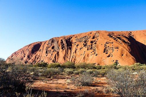 Uluru, Australia, Nature, Travel, Tourism, Desert