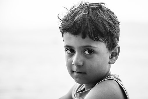 Child, Choudhury, The Innocence, Portrait