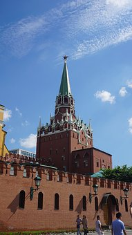 Red, Moscow, Russia, City, Square, Kremlin