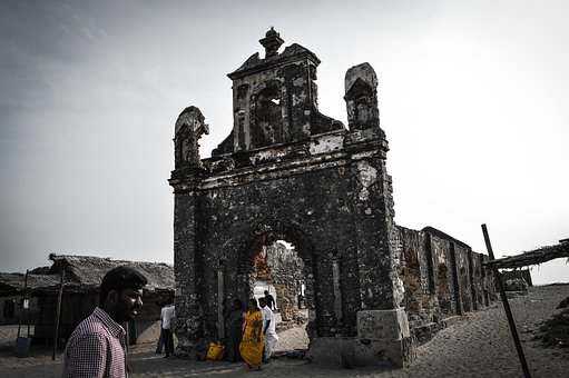 Streetphotography, Streetsofindia, Rubbles, Old, Church