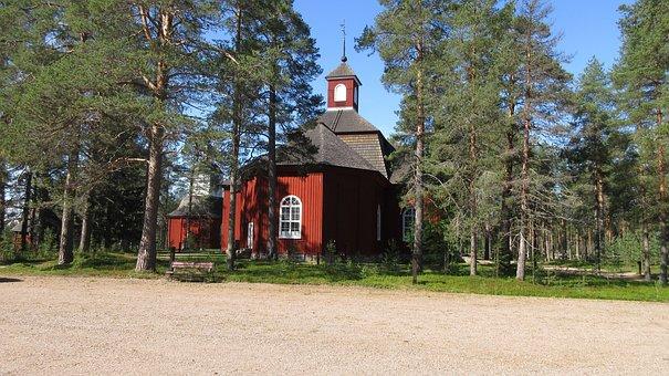 Pudasjärvi, Church, The Evangelical Lutheran