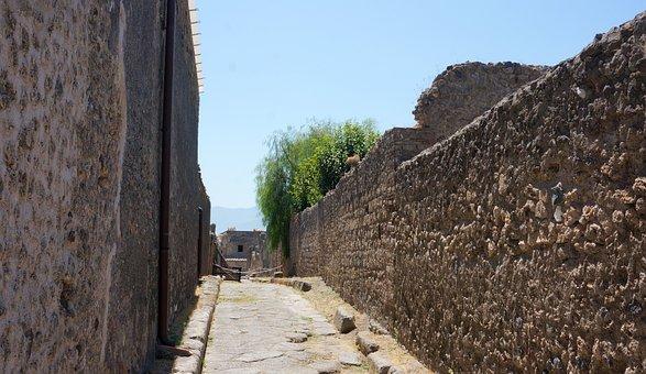 Pompeii, Unesco World Heritage, Historically, Alley