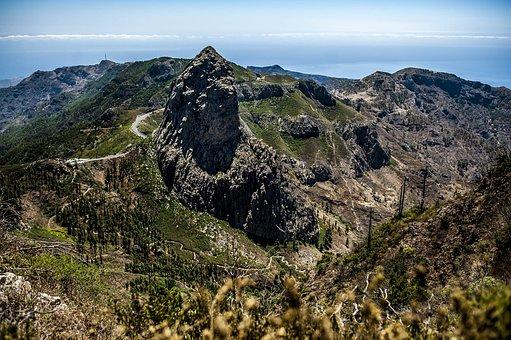 Landscape, Volcano, Nature, Mountain