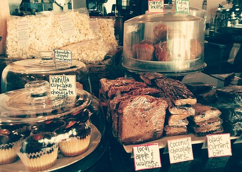Bakery, Desserts, Muffins, Cake, Cookies, Cupcakes