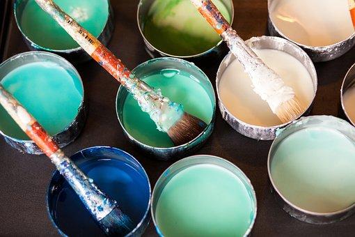 Paint, Brushes, Art, Supplies, Colours, Color