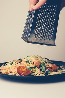 Food, Spaghetti, Pasta, Lunch, Dinner, Grater, Cheese