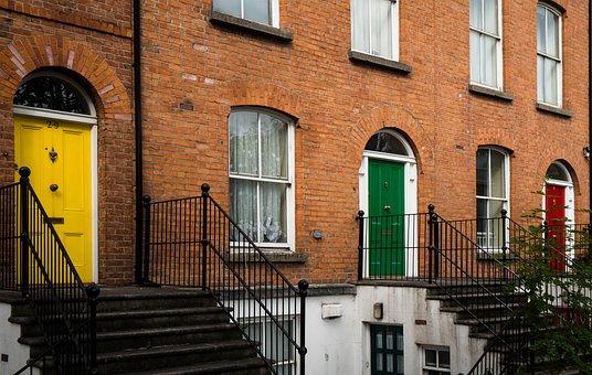 Door, Front Door, Input, Input Range, House Entrance