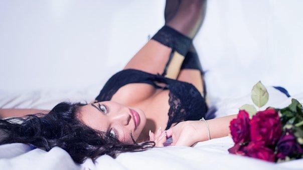 Lingerie, Bra, Underwear, Sexy, Female, Woman, Girl