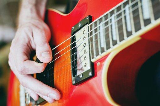 Guitar, Pick, Strings, Hands, Musician, Music