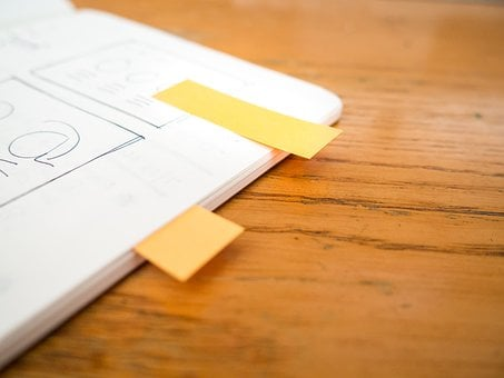 Tabs, Sticky Notes, Design, Mockups, Notebook, Notepad