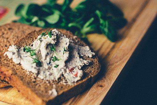 Bread, Sandwich, Spread, Food, Vegetables