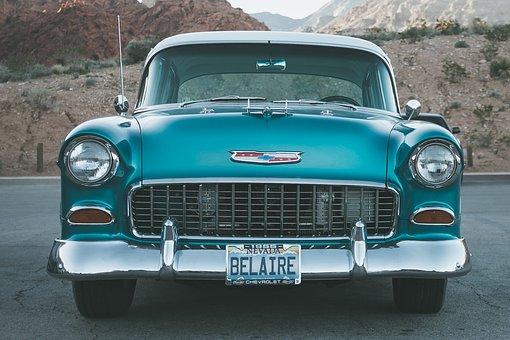 Vintage, Car, Belaire