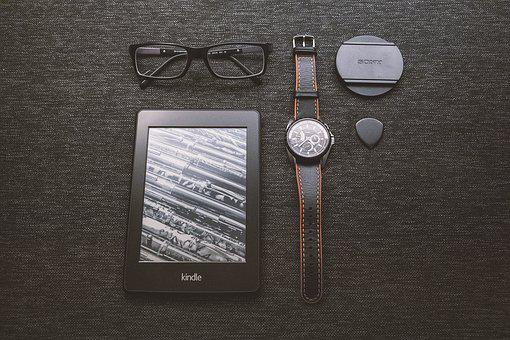 Kindle, E-reader, Technology, Objects, Watch