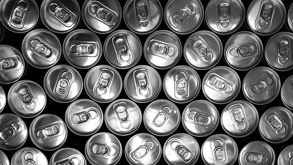 Cans, Drinks, Beverage, Pop Tabs