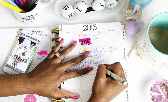 Calendar, Agenda, Planner, Appointment, Event, Hands