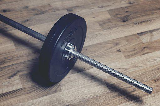 Weights, Fitness, Barbell, Dumbbells, Hardwood