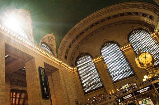 Grand Central Station, New York, Nyc, Transportation