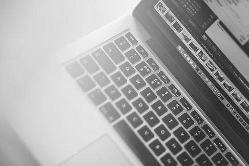 Macbook, Laptop, Computer, Keyboard, Business