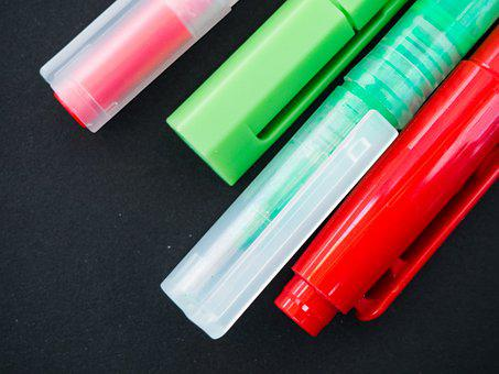 Pens, Highlighters, Markers, Stationary