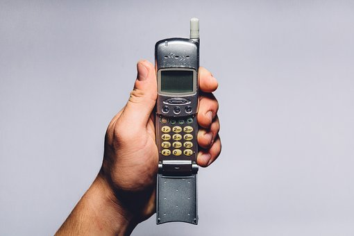 Cell Phone, Oldschool, Vintage, Objects