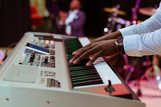 Electric Keyboard, Piano, Music, Instrument, Musician