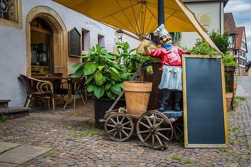 Restaurant, Eat, Menu, Street Cafe, Bottega, Cooking