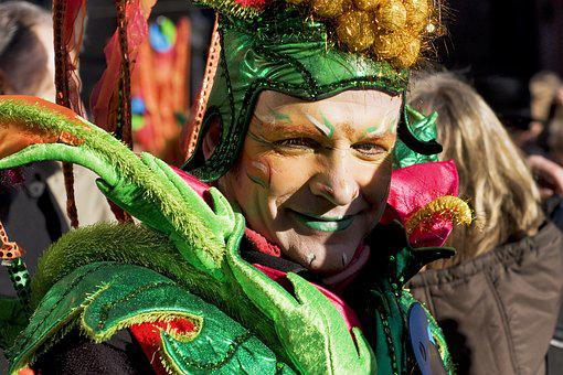 Carnival, Bremen, Celebrate, Color, From, Colorful