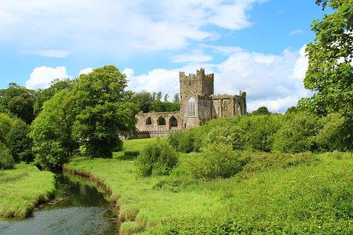 Tintern Abbey, Ireland, County Wexford, Countryside