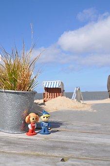 Jan Cux, Cuxi, Cuxhaven, North Sea, Beach