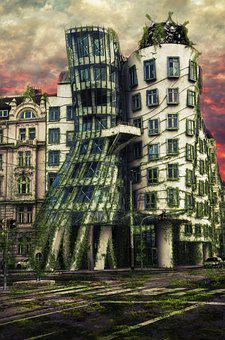 Architecture, Art, Building, Construction, Czech