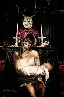 Haunted, Demonic, Horror, Halloween, Demon, Scary, Dark