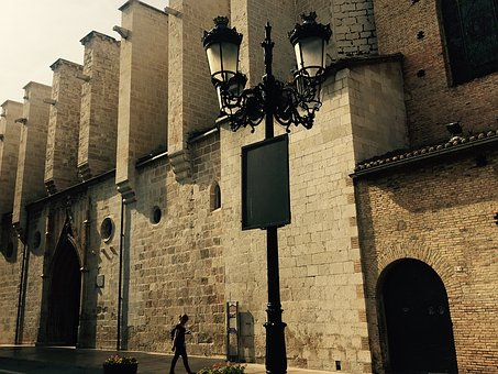 Gandía, Spain, Castle, Museum, Wall, Stone, Structure