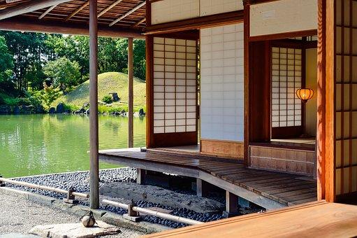 Landscape, Garden, Japan, Japan Culture, Building