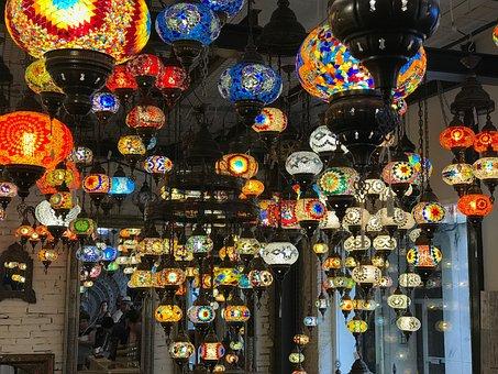 Lamps, Lanterns, Vintage Lantern, Bazaar