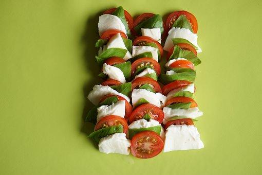 Tomato Mozzarella, Food, Recipe, Meal