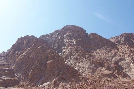 Mount Sinai, Mountains, Rocks