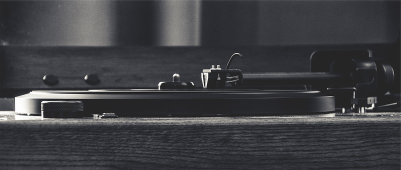 Turntable, Record, Vinyl, Needle, Tonearm, Music