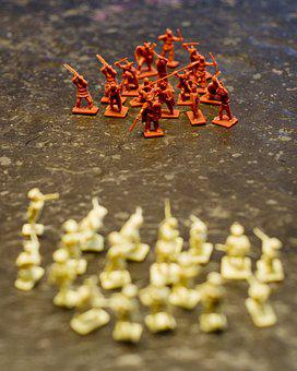 Plastic Soldiers, Plastic, Soldiers, Game Characters