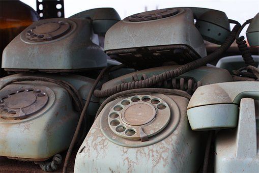 Rotary, Telephones, Antiques, Vintage, Classic, Old