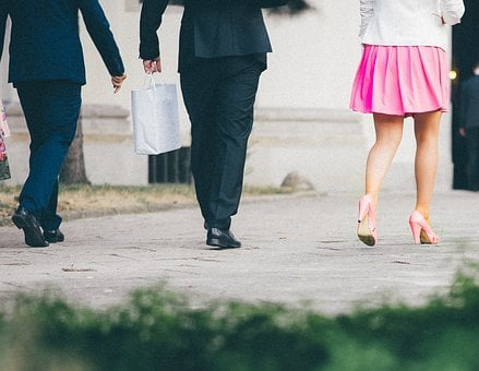 Suits, Shoes, High Heels, Pink, Skirt, Bags, Fashion