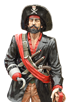 Pirate, Captain, Seafaring, Skull And Crossbones