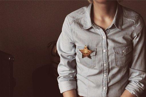 Sheriff, Star, Denim