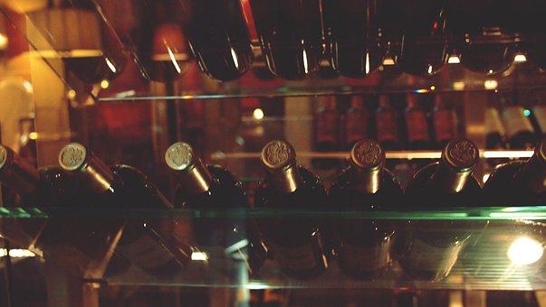 Wine, Cellar, Bottles, Alcohol