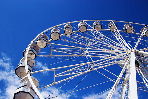 Ferris Wheel, Wheel, Ferris, Fun, Park, Amusement